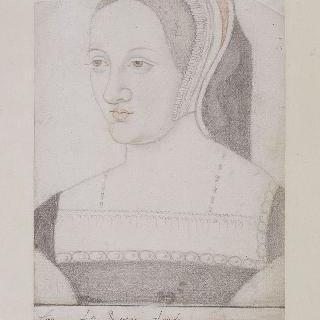 클로드 드 프랑스의 흉상 초상, 프랑수아 1세의 부인