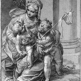 성모, 아기 예수, 어린 성 요한