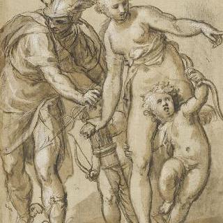메르쿠리우스, 비너스, 에로스, 안테로스