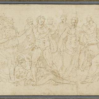 아폴론에게 도전하는 마르시아스
