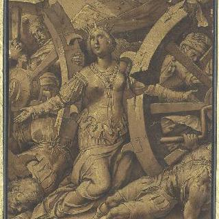 성녀 카트린느 달렉산드리의 순교