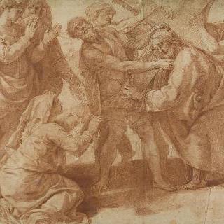 십자가를 맨 그리스도