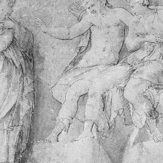 아폴론과 다이아나에게 니오베의 모욕에 대해 불평하는 레토