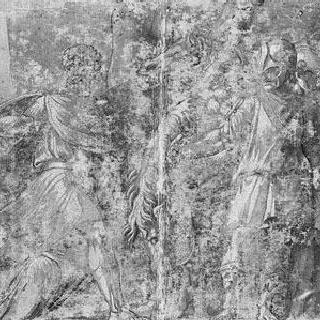 포르세나의 비서를 죽이는 무키우스 스카이볼라