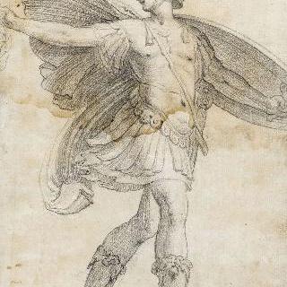 메두사의 머리를 흔드는 페르세우스