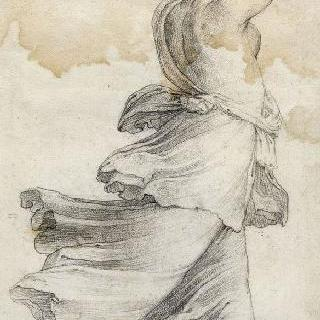 서 있는 여인의 뒷모습 : 헤리페리데스 정원의 인물
