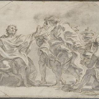 피뤼스 대사의 선물을 거절하는 파브리시우스