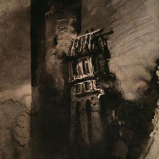 1835년의 투르귀 성