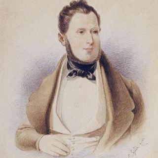 파리 지사, 웨젠느 조르쥬 오스만 남작의 초상 (1809-1891)