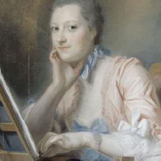 드 라 푸필니에르 부인의 초상 (1714-1756)