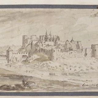 부르봉 아르샹볼의 전경, 부르봉 공작 성의 전경