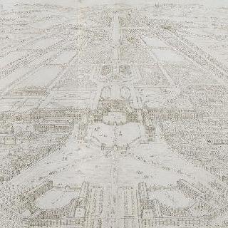 베르사유 궁의 전경