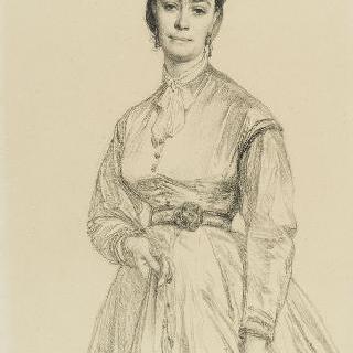 알베르 우에 부인의 초상