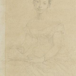 아튀르 푸크 뒤파르크 부인의 초상