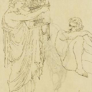 오르페우스, 헤르메스와 파르카 3 여신