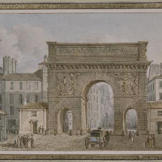 속칭으로 성 마르탱 성문이라고 불려지는 루이 14세의 영광을 기린 개선문의 전경