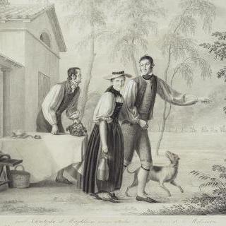 말메종 우유 판매소의 스위스인들 : 야곱, 크리스토프와 마그들렌