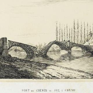 파리 점령시 샤토의 철로 다리