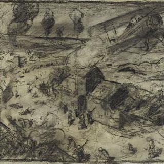 독일 전투기의 공격