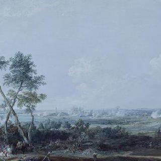 로벤달 백작 사령관의 오드나르드 점령 (1745년 7월 17일 ~ 21일)