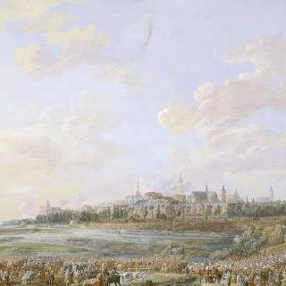 루이 15세의 몽스 입성 (1747년 5월 30일)