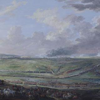 1747년 7월 2일 라우펠드 전투에서 승리를 거둔 루이 15세