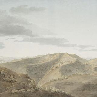 1796년 4월 15일 몽테 즈몰로의 고지의 전경