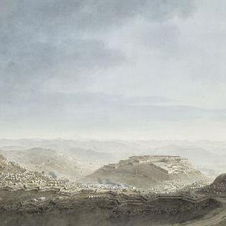 1796년 4월 16일 세바 요새 피에몬테의 참호로 둘러싸인 진지의 철수