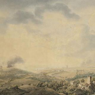 1805년 10월 20일 움 부근의 전경