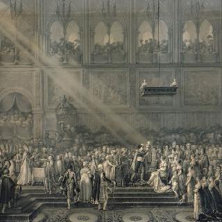 로마 왕의 세례 - 1811년 6월 10일 노트르담 대성당