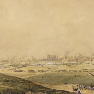 1809년 4월 23일 아소에서 바라본 라티스본 전경