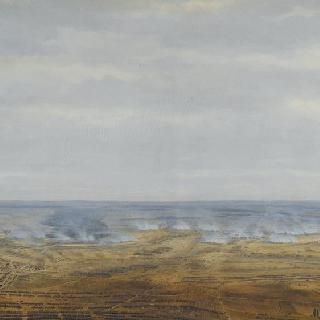 바하우 전투 : 전투 첫째 날 (1813년 10월 16일 3시 라이프치히 부근)