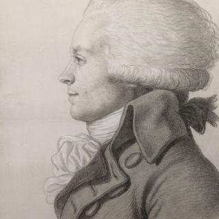 막시밀리앙 드 로베스피에르의 초상 (1758-1794)
