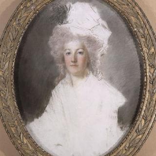 1792년 마리 앙투아네트 왕비의 흉상 초상 (1755-1793)