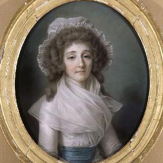 루이즈 데르파르베 드 루상의 초상 (1764-1804), 폴라스트롱 백작부인