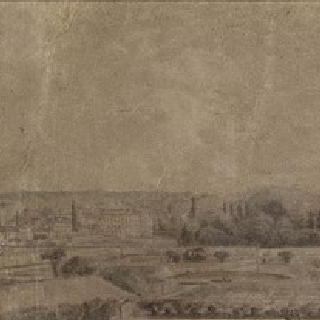 1850년경 국립원예학교에서 바라본 베르사유의 채소밭