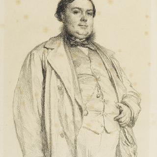 알베르 우에 씨의 초상, 루아르 국회의원, 뒤파르크씨의 매형
