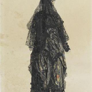 마드리드 여인, 바르크 백작부인의 뒷모습