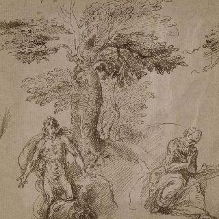 회개하는 두 명의 수도사