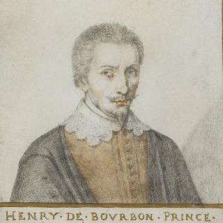 앙리 1세 드 부르봉, 콩데 왕자 (1552-1588)