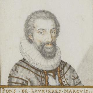 퐁스 드 로지에르, 테민 후작 (1553-1627)