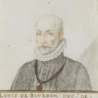 루이 드 부르봉, 몽팡시에 공작 (1513-1582)