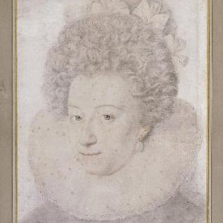 일명 팔라틴느 공주라고 불리는 안느 드 곤자그의 초상