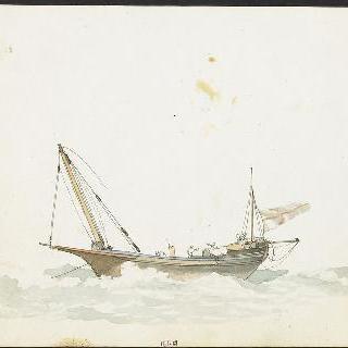 돛대가 부러진 배