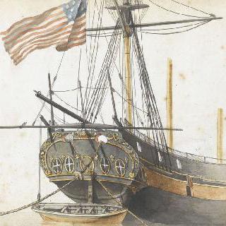 미국 군함의 선미