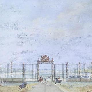 금박 철문
