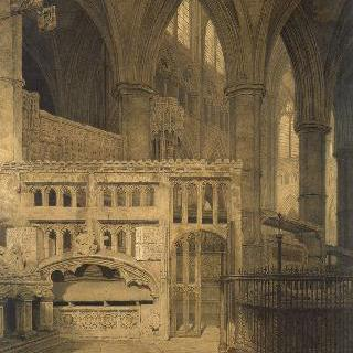 웨스트민스터 사원의 성폴 예배당의 전경