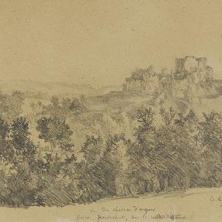 아르크 성의 전경