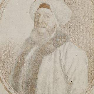 샤를 알렉산드르 드 본느발 백작의 흉상 초상 (1675-)