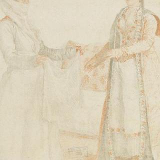 갈라코의 프랑코 귀부인과 그녀의 노예